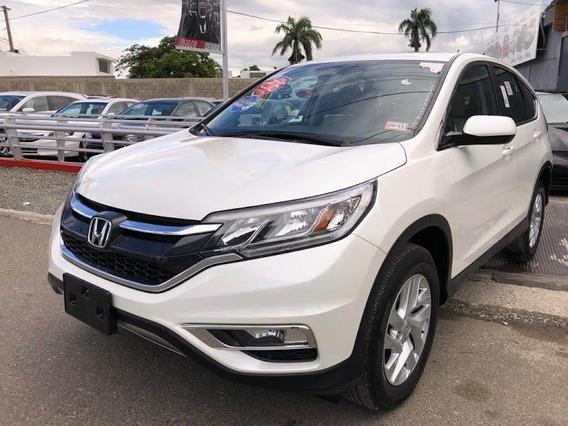 Honda Crv Ex Awd Blanca 2016