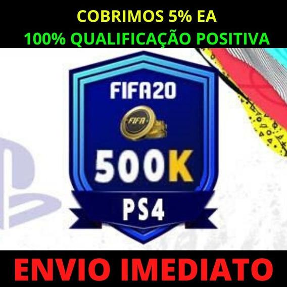 Fifa Coins Ps4 500k Ultimate Team Promoção