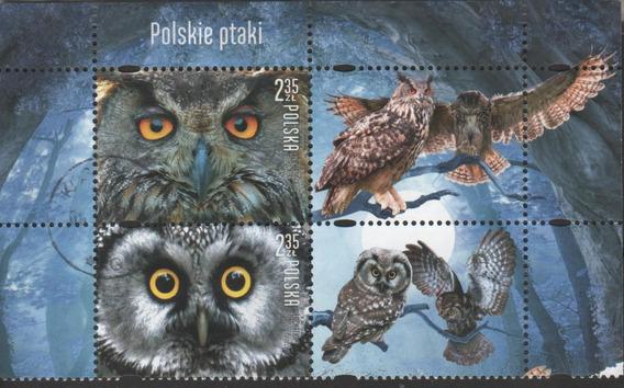 Corujas - Conjunto De Selos Da Polonia - 7613