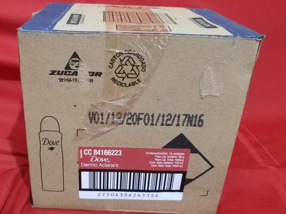 Desodorante Dove Dermo Aclarant Cx 12 De 150ml
