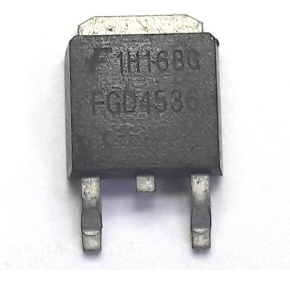. Transistor Fgd4536 To252 Fgd4536 Smd Novo E Original
