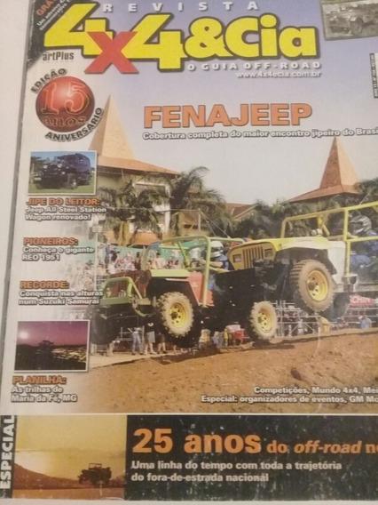 Revista 4x4 Rara Edição De Aniversario Número 168 Pôster