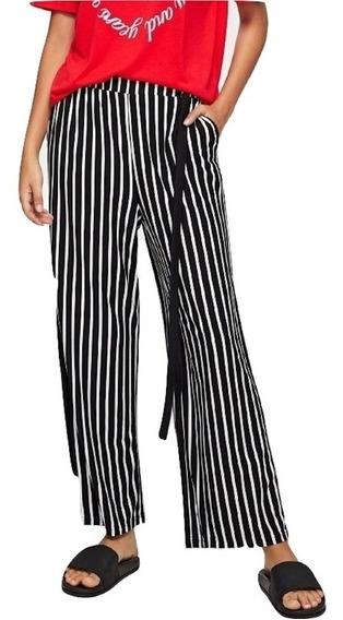 Pantalon Flojo Rayas Ropa Mujer Jeans Dama Pantalones Dama