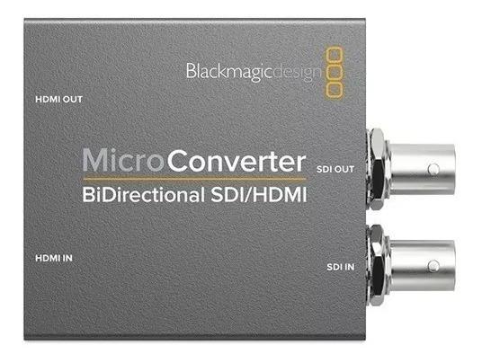 Micro Conversor Blackmagic Bidirecional Hdmi Sdi