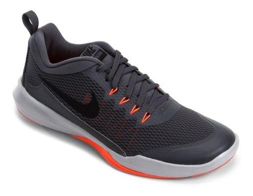 Tênis Nike Chumbo E Laranja Legend Trainer