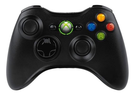 Controle joystick Microsoft Xbox 360 black