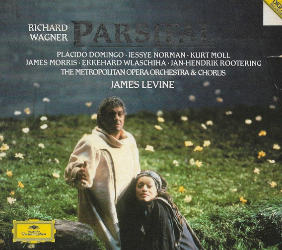 Box 4 Cd Wagner Parsifal - James Levine / Domingo / Norman