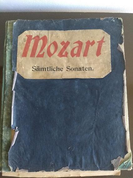 Livro Mozart Samtliche Sonata Edição Wilhelm Hansen 1949