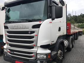 Scania R440 - 6x4 - 2014 - Com Retarder