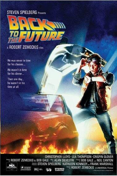 Volver Al Futuro - Back To The Future - Poster De 60 X 90
