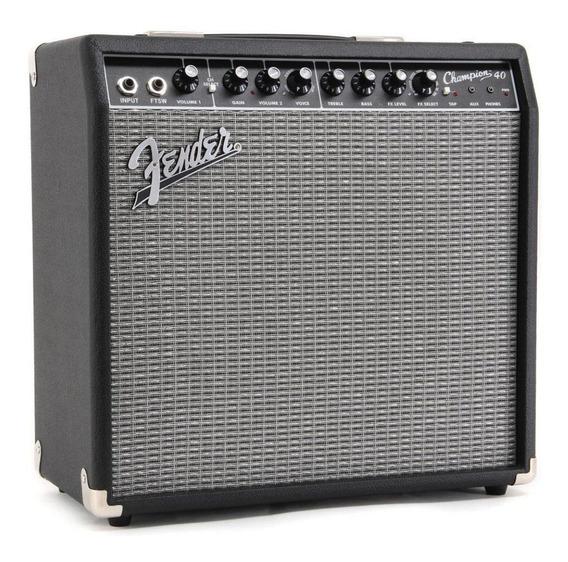 Amplificador Fender Champion Series 40 Transistor 40w + Nfe!