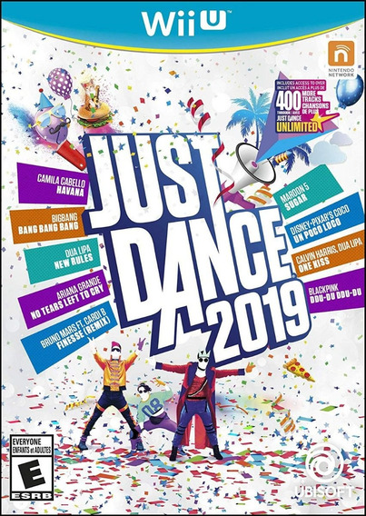 Just Dance 2019 Wii U - Wup Gx2 - Midia Digital