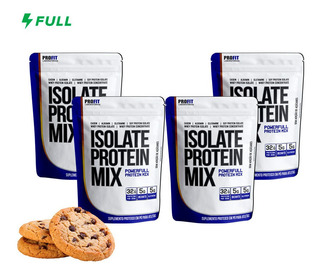 Combo 4x Whey Isolate Protein Mix Profit 900g - Total 3,6kg