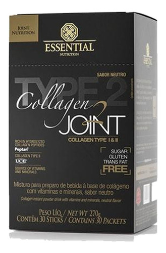 Colageno Joint 30 Sachês  - Essential Nutrition