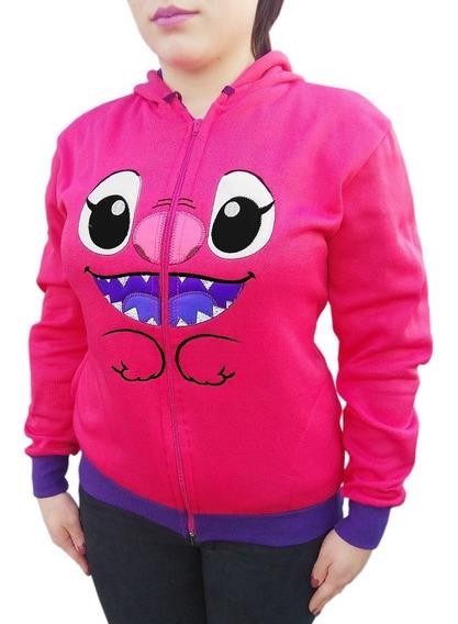 Hoodie Stitch Chamarra Sudadera Rosa Disney Envio Gratis !!!