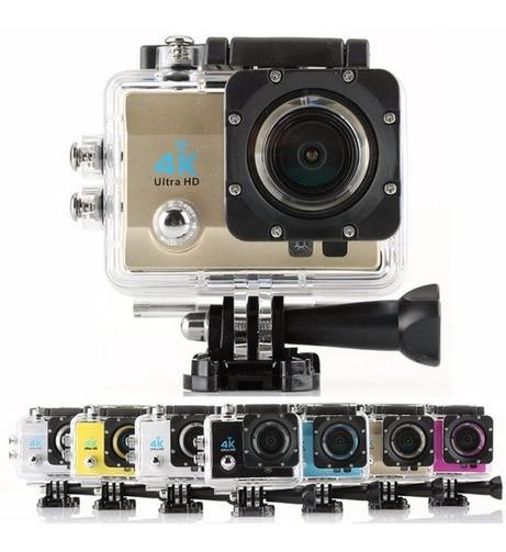 Camera Action Go Cam Pro Sport Ultra 4k Dourado Prova D
