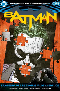 Batman Vol. 4 - La Guerra De Las Bromas Y Los Acertijos
