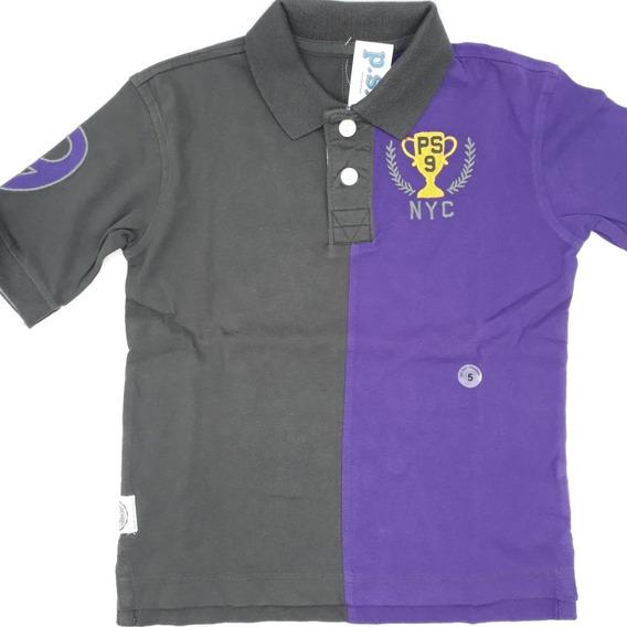 Camisa Polo Infantil Menino P.s.aéropostale