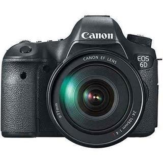 Cámara Réflex Digital Canon Eos 6d 20.2 Mp Cmos Con Pantalla