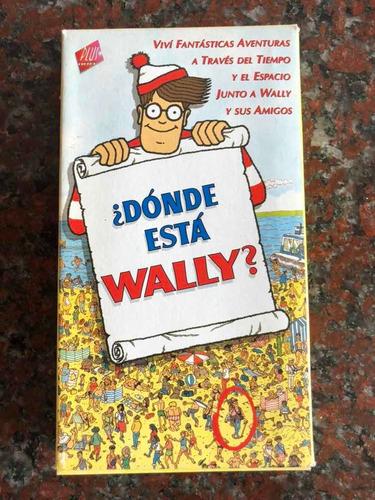 Vhs ¿dónde Está Wally? Película Serie