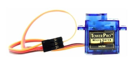 Micro Servo Motor Sg90 9g Towerpro + Acessórios 1 Unidade