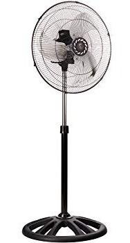 Imagen 1 de 2 de Ventilador De Pedestal Mytek 3389 Z Fan 18  Aspa Metalica