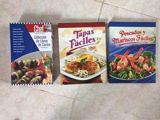 Colección De Libros De Cocina - 3 Paquetes