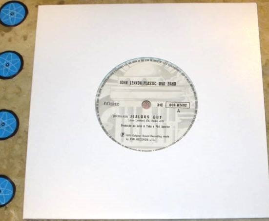 Compacto John Lennon Plastic Ono Band - Jealous Guy (1971)