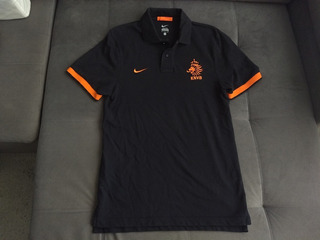 Camisa Polo Da Seleção Da Holanda Oficial Da Nike -impecavel