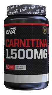 Carnitina 1500 Mg (60 Caps) Ena Sport- Quemador Grasa