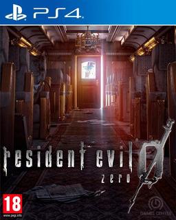 Resident Evil Zero 1° Ps4