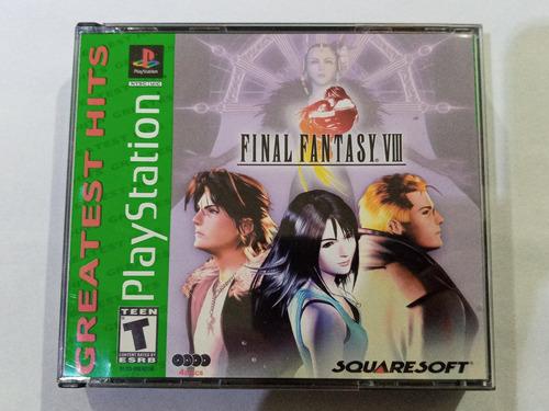 Final Fantasy Viii P/ Playstation 1 Ps1 Original Americano