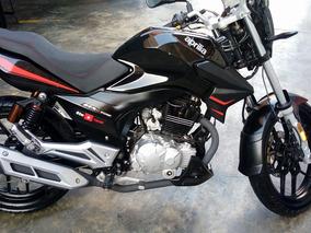 Moto Aprilia Stx 150 Negra 2014