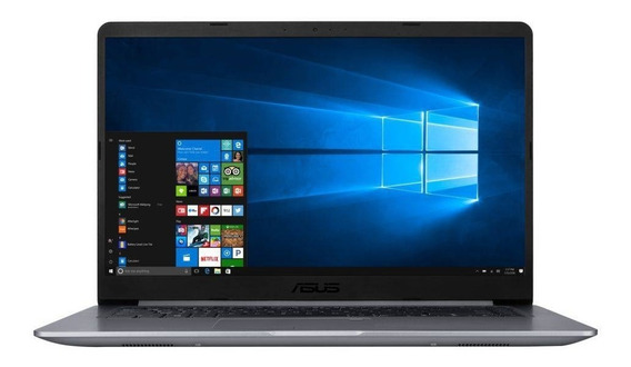 Notebook Ultrafino Asus X510 Intel® Core I5-8250u Quad Core 16gb De Memória 256gb Ssd M2 Tela 15,6 Borda Fina
