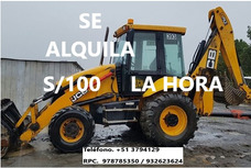 Alquiler De Retroexcavadora 978785350 / 932623624