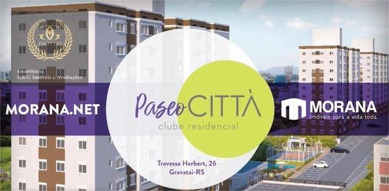 Apartamento Com 2 Dormitórios À Venda, 45 M² Por R$ 158.000 - Passo Das Pedras - Gravataí/rs - Ap0113