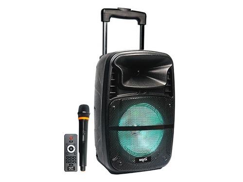 Parlante Bluetooth Portatil Recargable Microfono Karaoke Fm