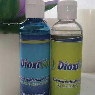 Dioxivida Desinfectante Agua Clorito Sodio 120ml Dioxido