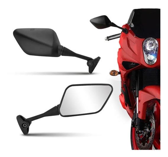 Par Retrovisor Moto Esportivo Comet Gt 650r 250r Carenada