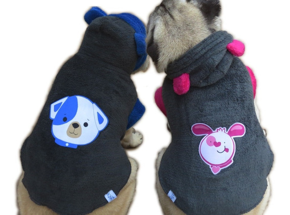 Roupa De Cachorro /gato Pequeno/ Medio Para Inverno Frio