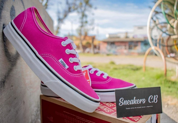 Tenis Vans Authentic Very Berry Para Dama