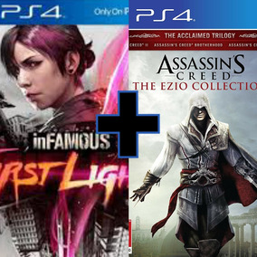 Assasins Creed Enzo Colection + Infamous First Light 2°