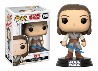 Rey - Star Wars Funko Pop Original #190 - Caballito
