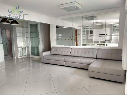 Apartamento Centro De Suzano Com 3 Dormitórios E 2 Vagas Para Venda 750 Mil Ou Alugar Por R$ 2.300 + Cond + Iptu/mês - Ap0402