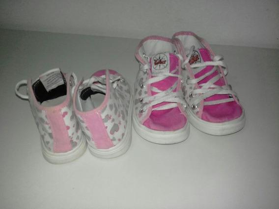 Zapatillas Nena Num 26 Rosas