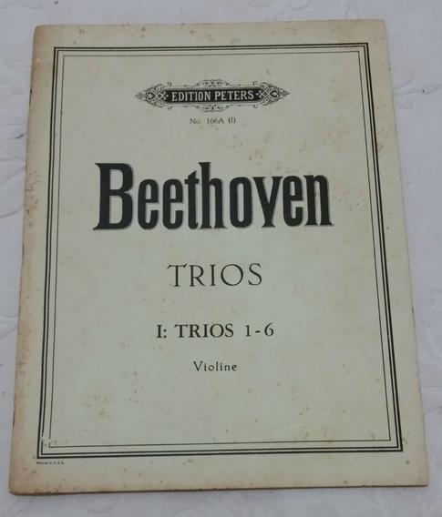 Partitura - Violino - Ludwig Van Beethoven - I: Trios 1-6
