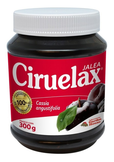 Laxante Estimulante Intestinal Jalea Ciruelax 300 Gr