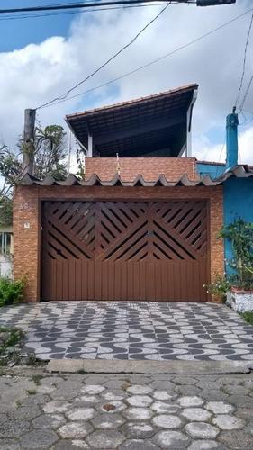 Casa Com 3 Dormitórios À Venda, 172 M² Por R$ 300.000 - Jussara - Mongaguá/sp - Ca0756