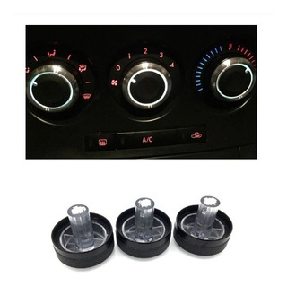 Set 3 Perillas Aire Acondicionado Mazda 3 All New