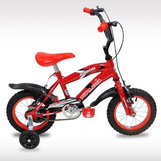 Bicicleta Top Mega Rodado 12 Varon Nene Bmx Cross Reforzada